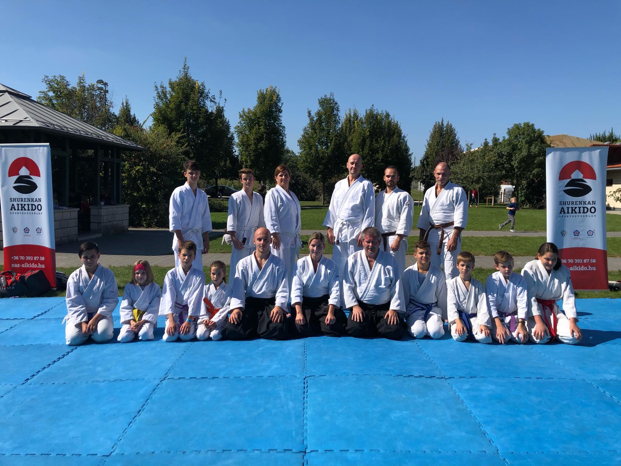 Aikido bemutató - Telki Sportnap