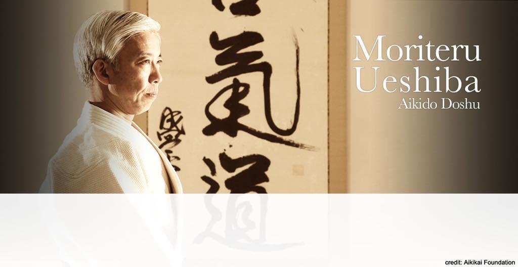 Doshu Moriteru Ueshiba sent a message