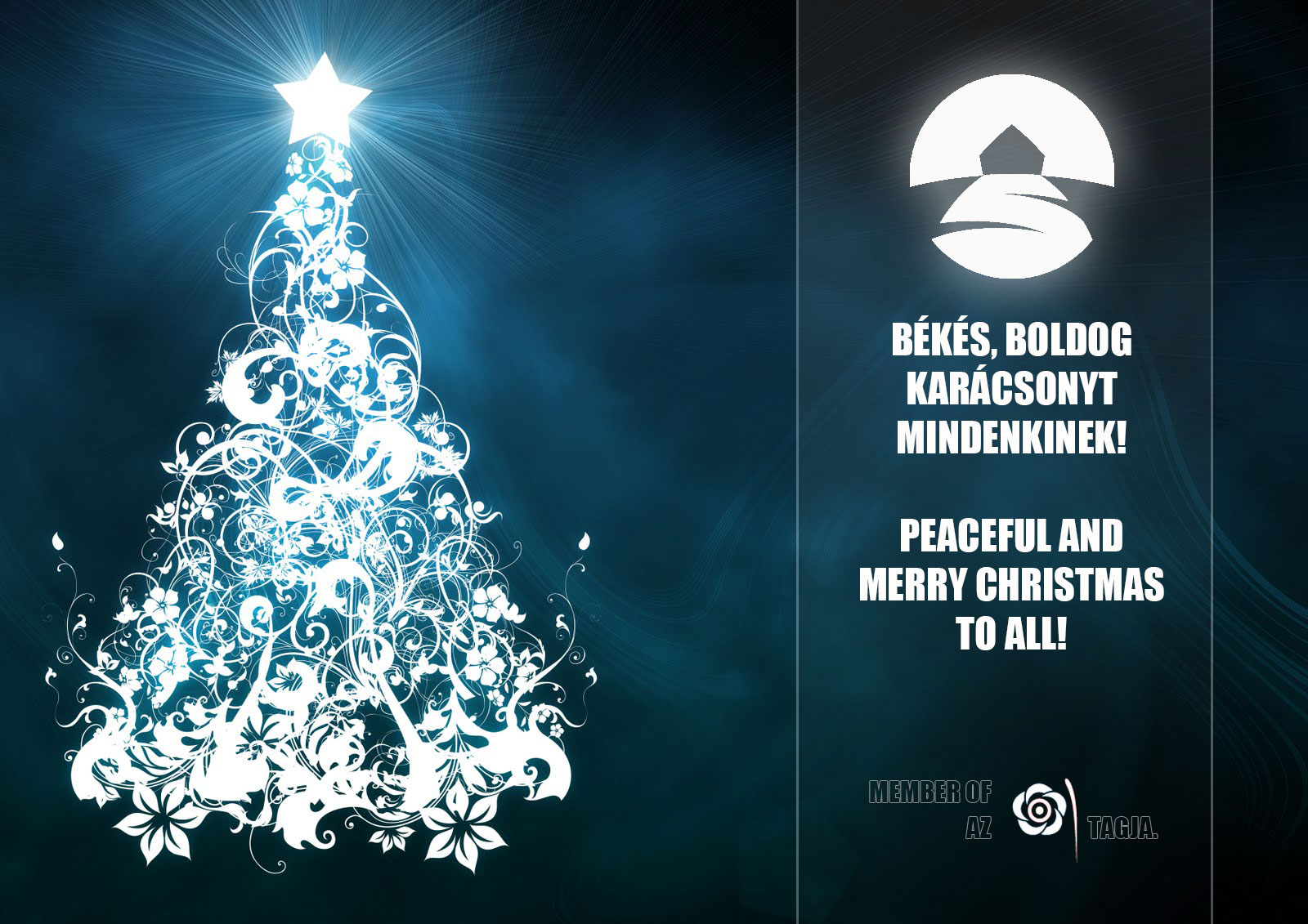 Boldog Karácsonyt és Új Évet!