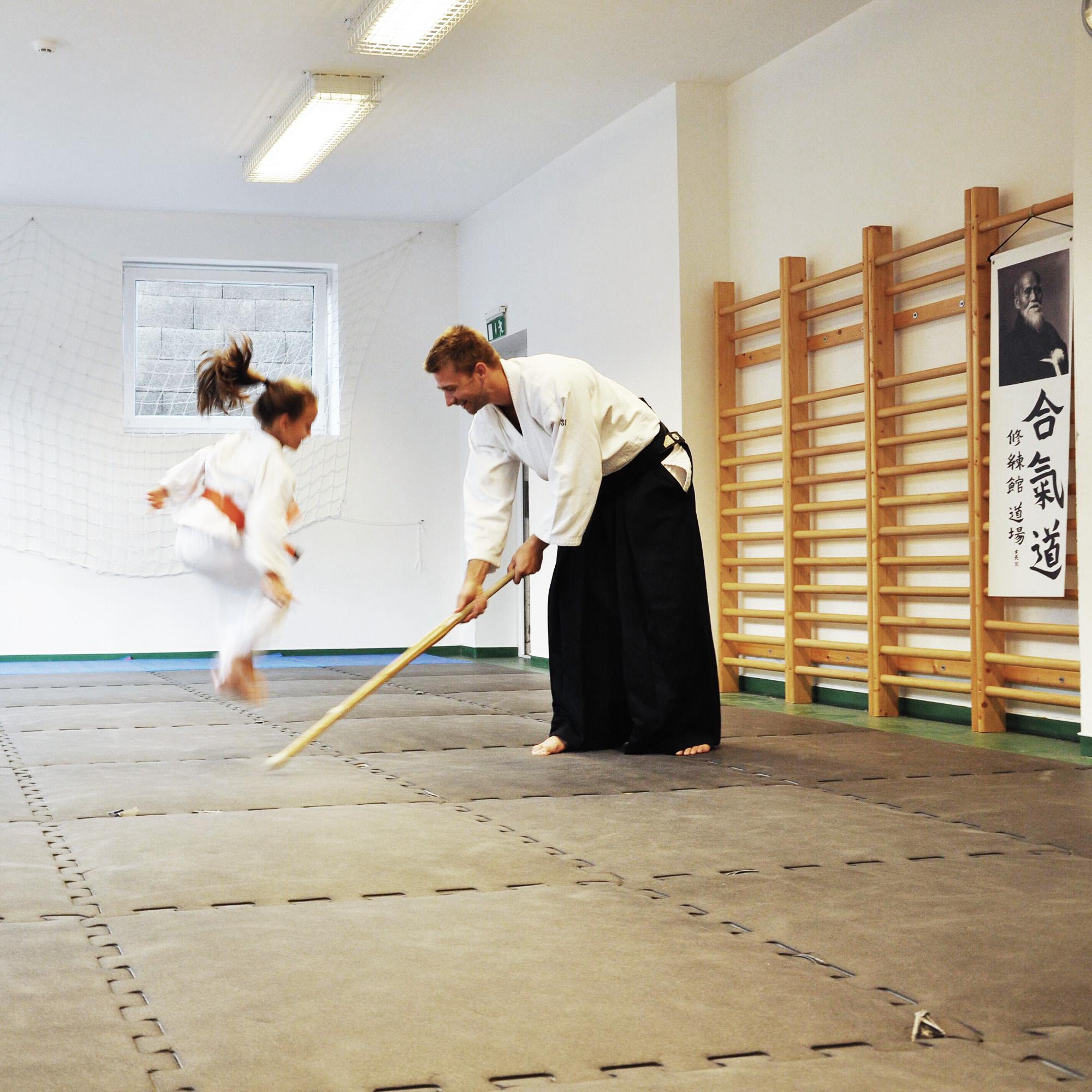 Összevont gyerekedzés - Aikido Dunakeszi Dojo