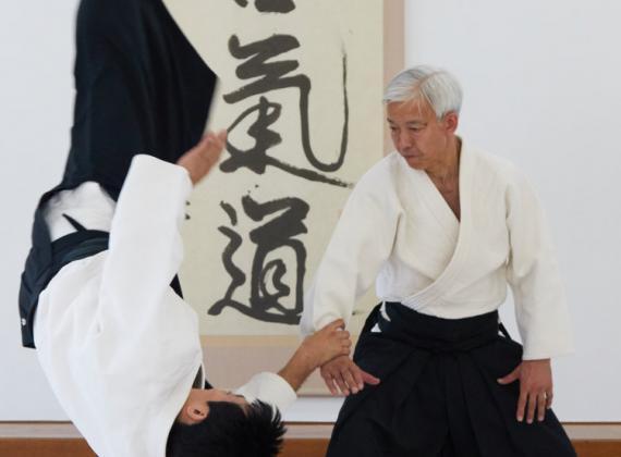 Ueshiba Moriteru Doshu